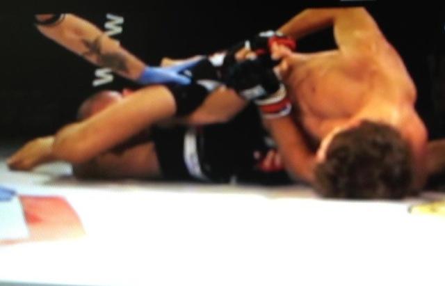 Roggan Gracie no MMA na Italia