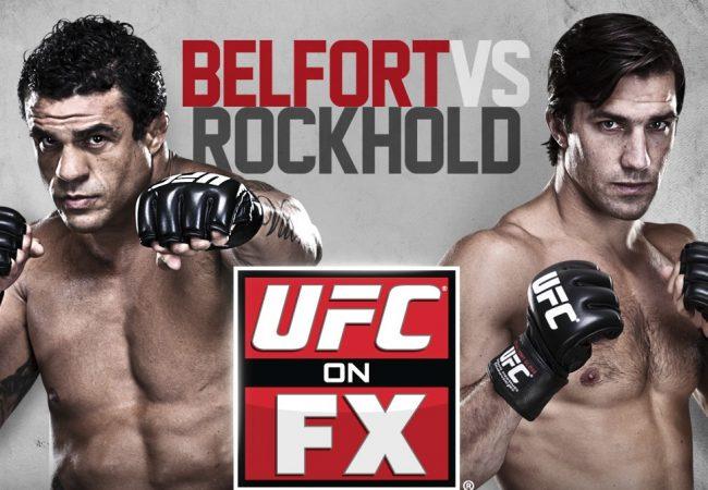 UFC on FX 8: Quick Results for Belfort vs. Rockhold