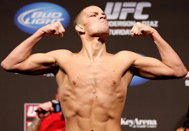 Nate Diaz é suspenso do UFC após disparar ofensas contra Bryan Caraway