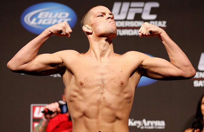 Nate Diaz se envolve em mais uma confusão fora dos octógonos. Foto: UFC/Divulgação