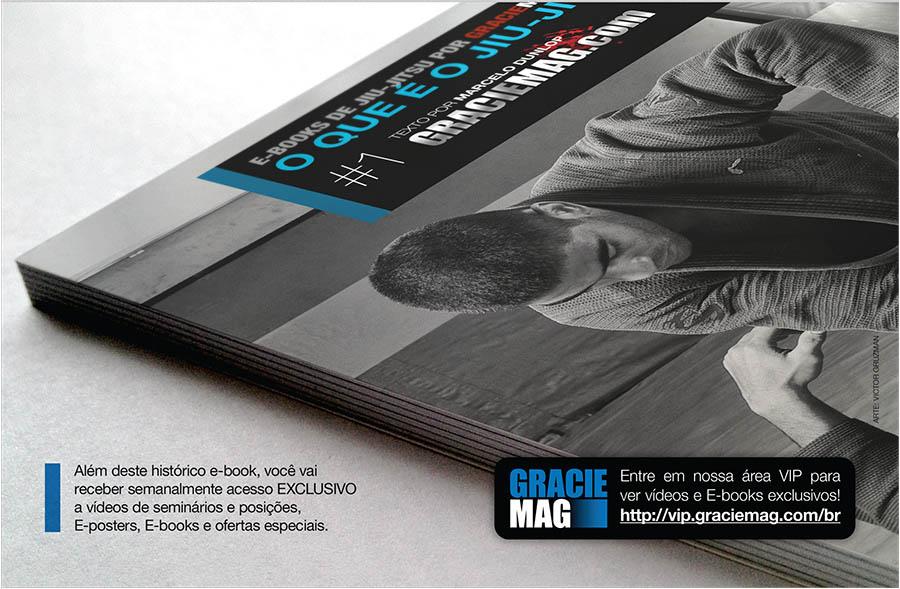 O Livro Digital O que é o Jiu-Jitsu é o primeiro produto exclusivo do Clube VIP GRACIEMAG