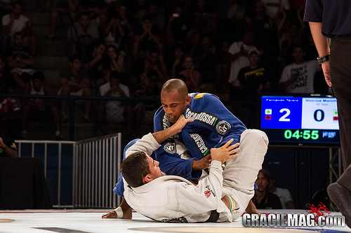 Vinicius Marinho venceu Fernando Terere por 8 a 2