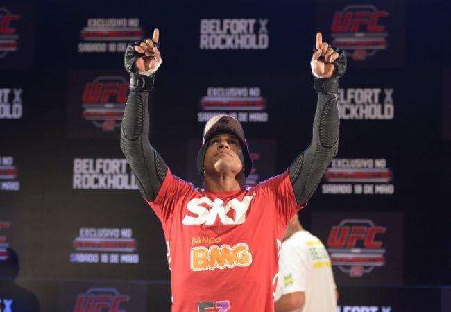 UFC no Combate 2: Veja o treino aberto de Vitor Belfort
