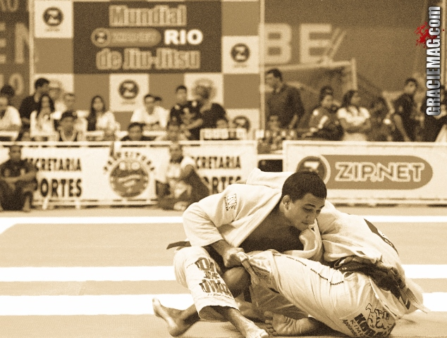 BJ Penn in action at the 2000 Worlds