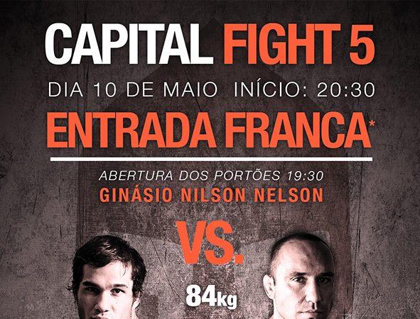 Capital Fight chega a sua 5° edição com duelo Brasil vs Argentina