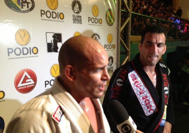 Copa Pódio: Xande Ribeiro passa a guarda de Bráulio Estima e comenta feito