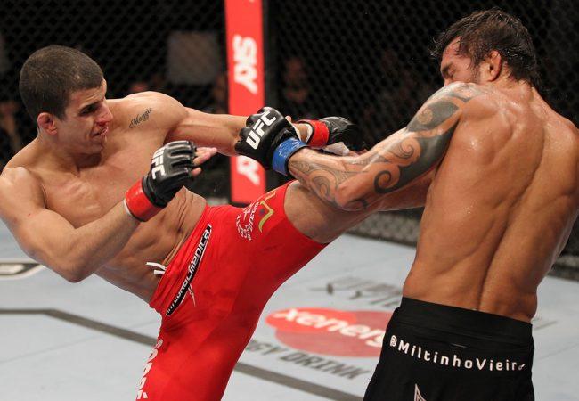 UFC no Brasil? Felipe Sertanejo ataca novamente e enfrenta Sam Sicilia em BH
