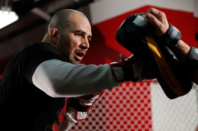 Glover Teixeira terá mais um embate no seu caminho ao topo do UFC. Foto: Josh Hedges/Zuffa LLC via Getty Images