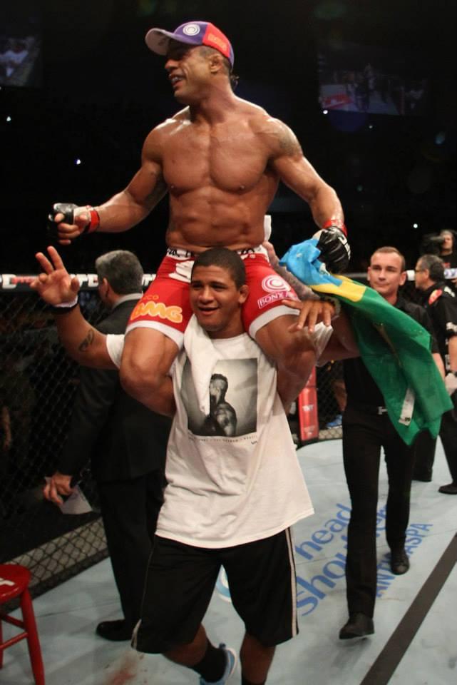 vitor Belfort apos vitoria em Jaragua no UFC no Combate Foto UFC