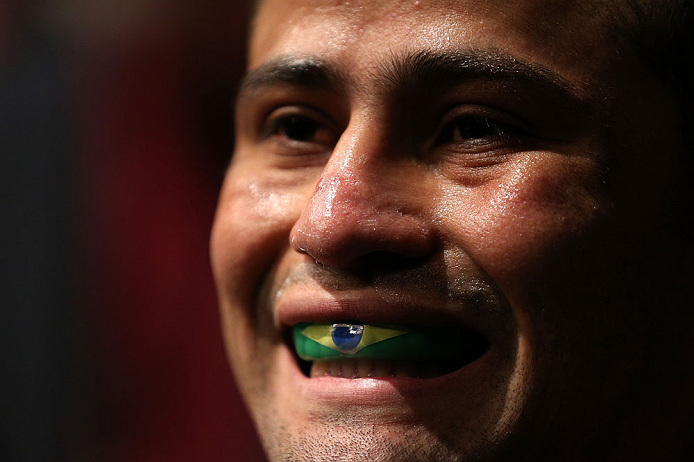 Jussier Formiga quer usar o Jiu-Jitsu. Foto: JOsh Hedges/Zuffa LLC via Getty Images