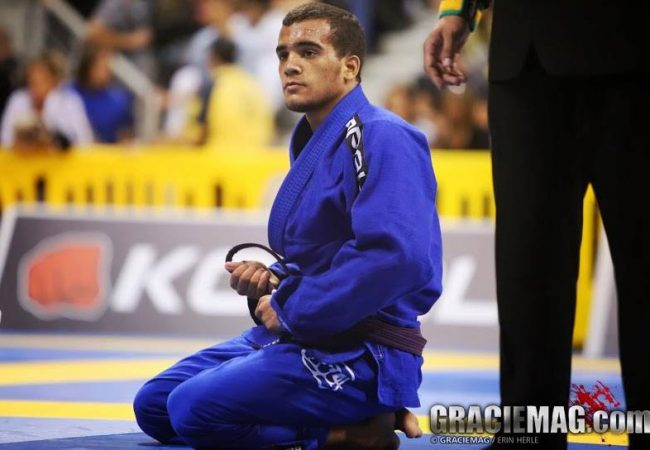 Watch Marcio Andre's debut at brown belt after winning 2nd purple belt world title