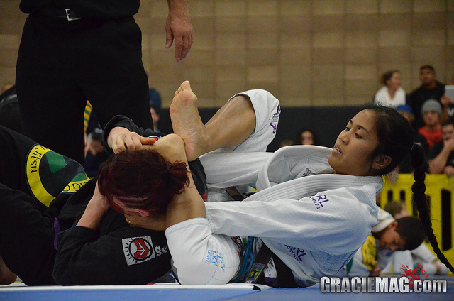 Brown belt Kristina Barlaan invited to ADCC, proving evolution in the sport