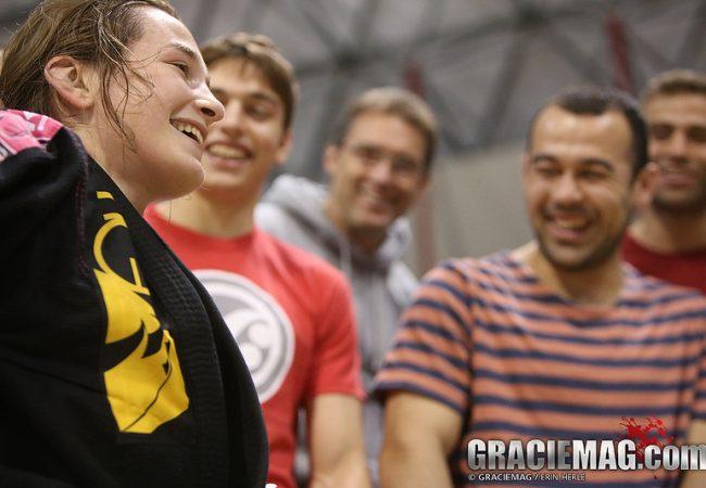 Video: Marcelo Garcia training with Dominyka Obelenyte