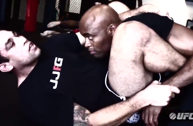 VIDEO: Watch Anderson Silva roll with Fabricio Werdum