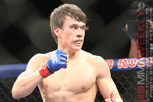 UFC 160's Brian Bowles tests positive for elevated testosterone levels