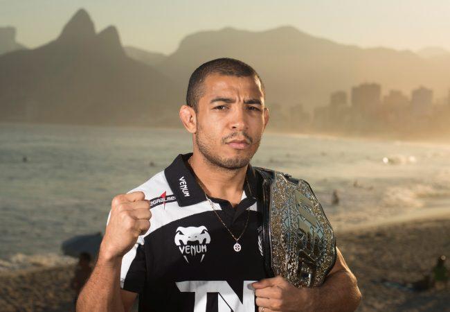 Vídeo: José Aldo comenta encontro com Pettis e disputa de cinturão no Rio
