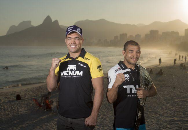 Veja a primeira encarada oficial: Davis x Machida e Pettis x Aldo no Rio de Janeiro