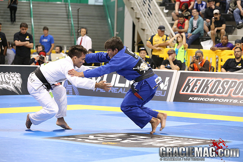 2013 Worlds: Gabriel Moraes' persistence at light featherweight