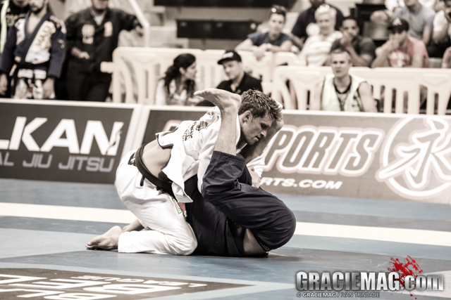 Clark Gracie stopped in the middleweight quarterfinals
