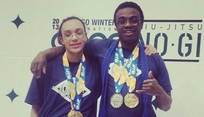 Father-daughter team compete together through Jiu-Jitsu and life's tragedies