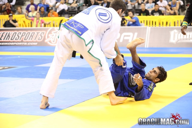 Worlds: Leandro Lo and Michael Langhi in lightweight final