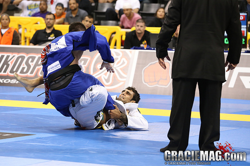2013 Worlds: Leandro Lo's stamina at lightweight