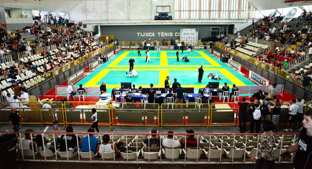 Rio Open realizado no Tijuca Tênis Clube