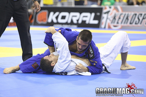 ADCC 2013: Michael Langhi out of -88 kg division with knee injury