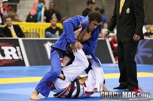 Otavio Sousa foi o campeao mundial 2013 no peso medio Foto Ivan Trindade