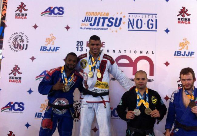 Ricardo Evangelista é o 1º campeão absoluto do Roma Open de Jiu-Jitsu