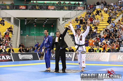 Romulo Barral is the 2013 medium heavyweight world champion. Photo: Ivan Trindade.