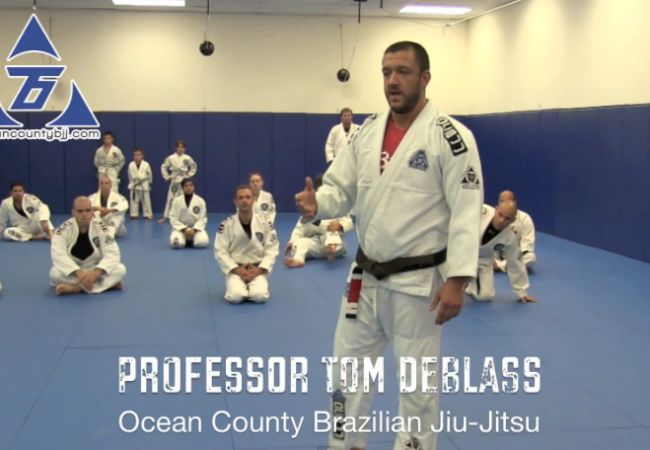 VIDEO: GMA Tom DeBlass demonstrates and discusses half-guard moves at seminar