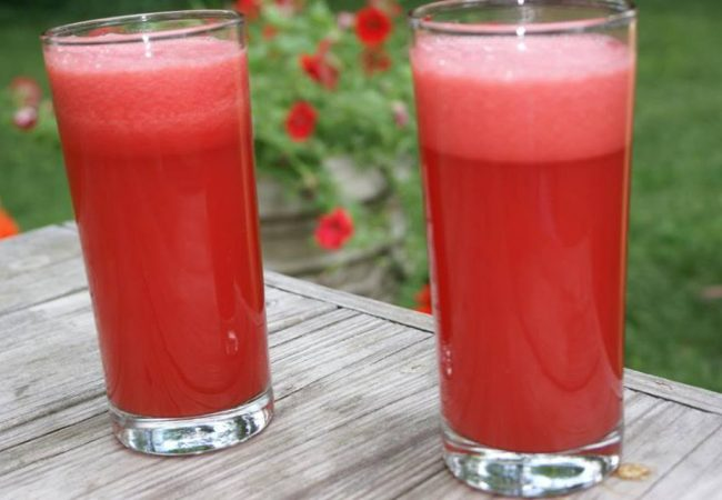 Dieta Gracie: como preparar um delicioso suco de melancia
