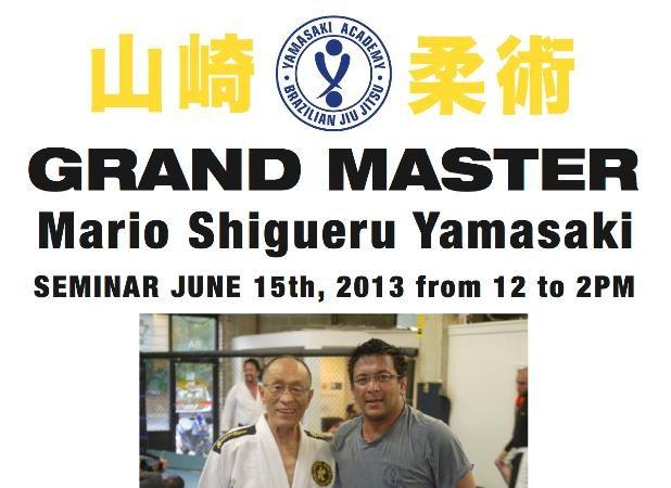 Grand Master Mario Shigueru Yamasaki seminar in Springfield, VA on June 15