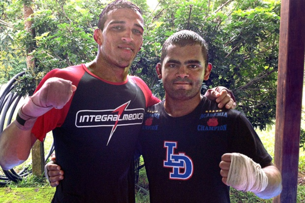 Charles do Bronx e os treinos para anular a agilidade de Frankie Edgar no UFC 162