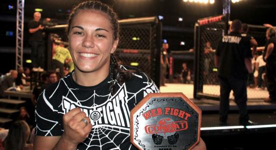 """Jéssica """"Bate-Estaca"""" faz sua segunda luta no UFC em outubro"""