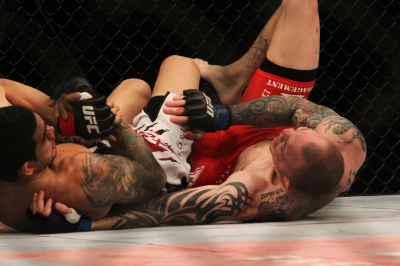 Braga Neto finalizou Anthony Smith em sua estreia no UFC. Foto: Carol Correia
