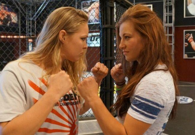 """Veja Ronda Rousey, Miesha Tate e as emoções do """"TUF 18"""" no canal Combate"""