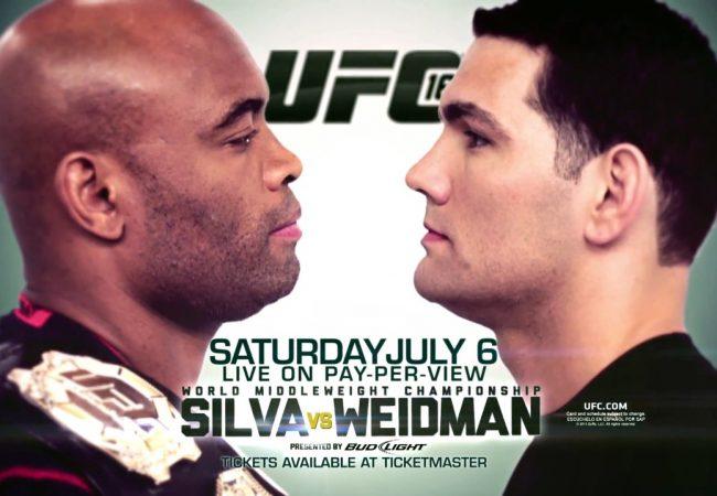 Aqueça para o duelo Anderson x Weidman com o countdown do UFC 162