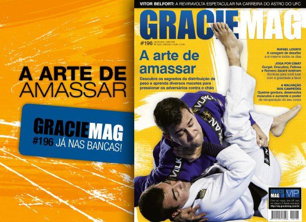 GRACIEMAG 196: a distribuição de peso e a arte de se tornar pesado no Jiu-Jitsu