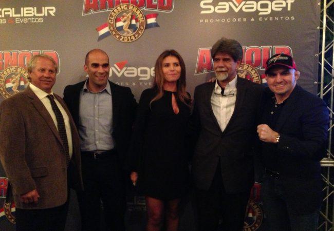 Jungle Fight anuncia nova parceria com o Arnold Classic Brasil para 2014