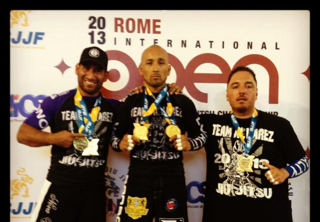 Alvarez BJJ sends 4-person army from Texas to Rome, earns 7 medals