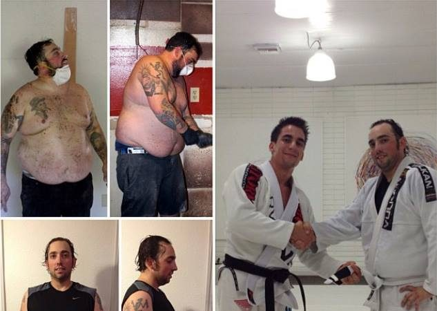 One white belt's story of how the Art of Jiu-Jitsu has changed his life and weight