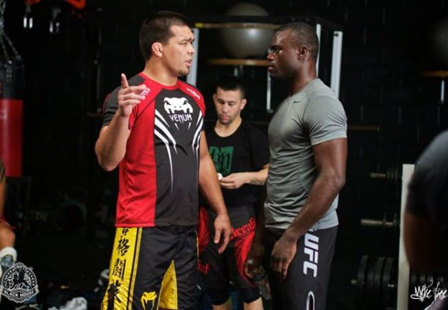 Video: Lyoto Machida discusses training with TUF 17's Uriah Hall
