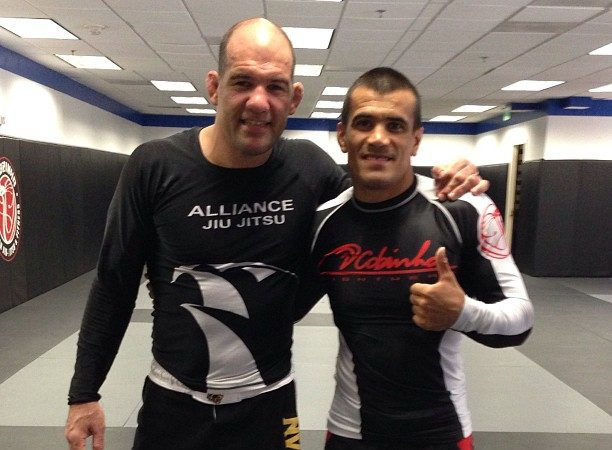 Cobrinha trains with Gurgel for the ADCC. Watch him fight No-Gi
