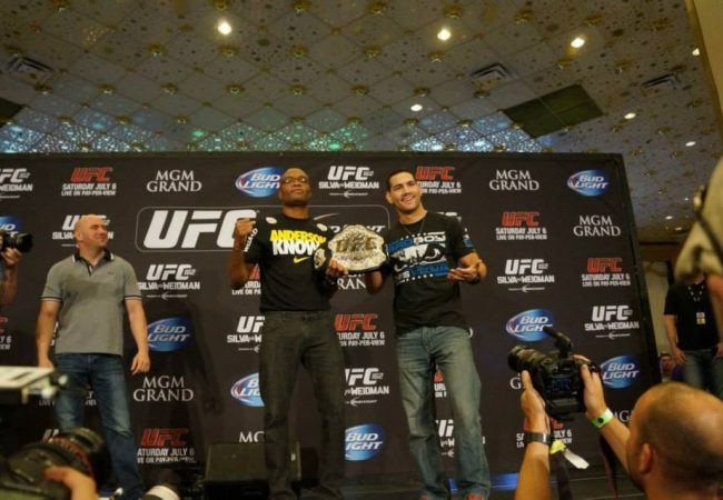 UFC 168: watch the pre-fight press conference at 4PM/1PM (ET/PT)