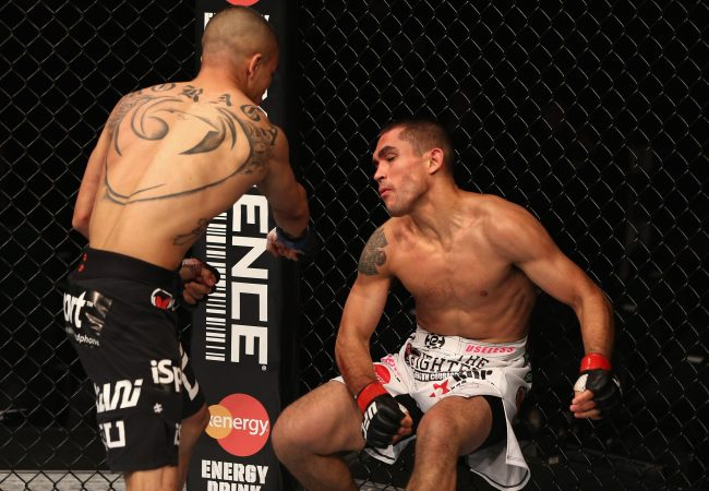 Watch UFC on Fox 8's John Moraga get a KO in his UFC debut