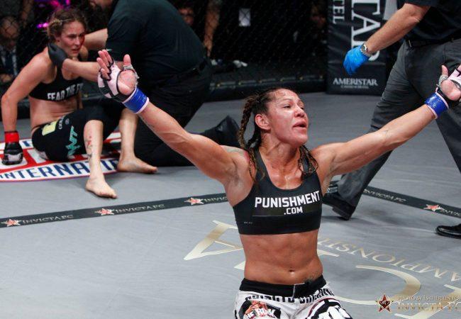 Can Ronda handle it? Watch Cris Cyborg's KO win in Invicta FC
