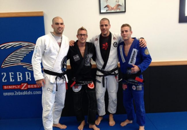 Adamson Brothers receive the black belt