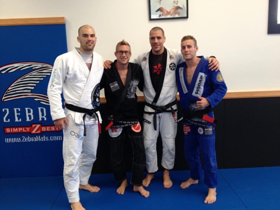 Adamson Bros get their black belts